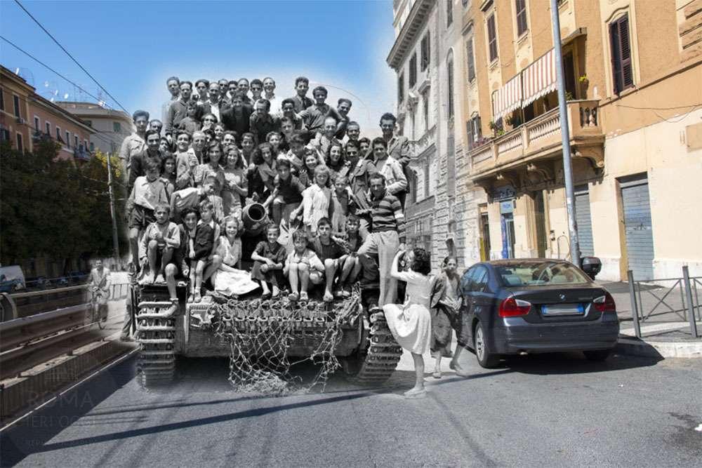 Risate di gioia roma ieri oggi for Paoletti arredamenti via casilina