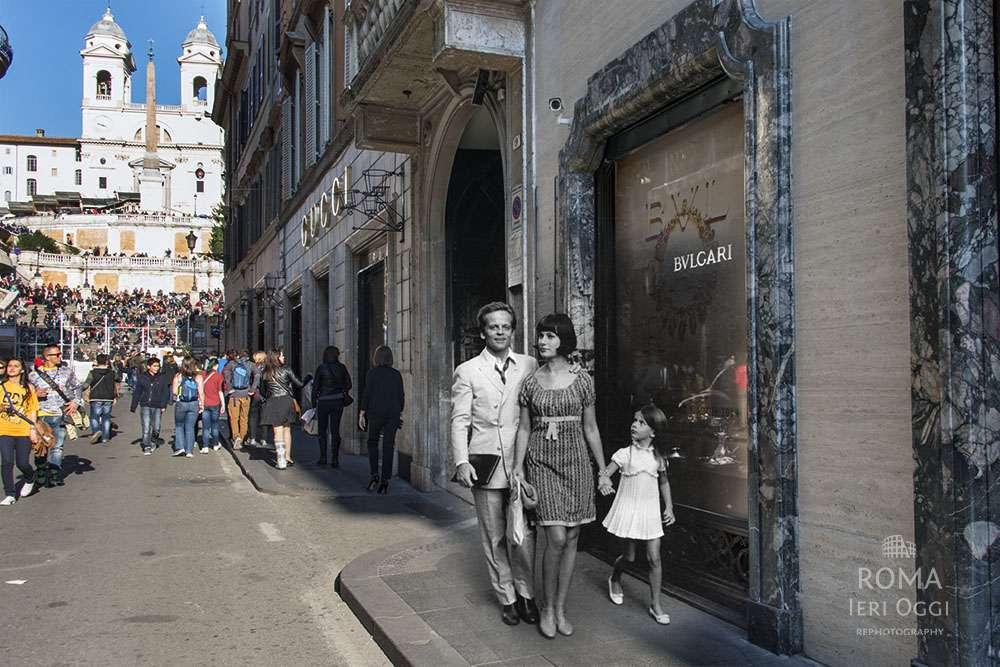 bc58636d7720d Klaus Kinski e famiglia a Via Condotti