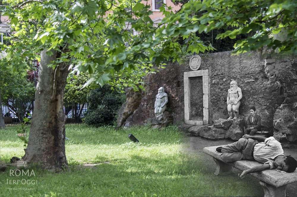 La porta magica a piazza vittorio roma ieri oggi - Porta magica piazza vittorio ...