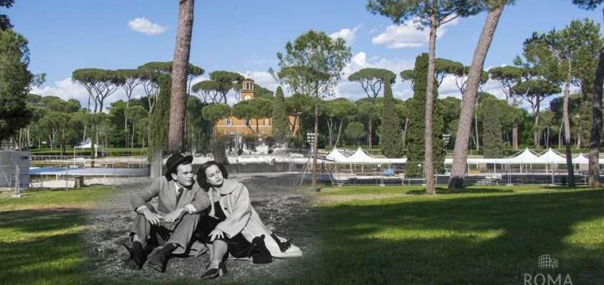 Un pomeriggio di sole a Piazza di Siena