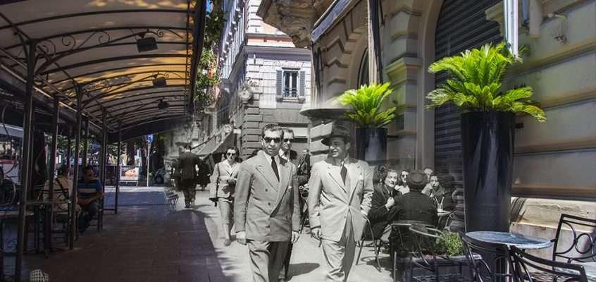 Lucky Luciano a Via Veneto