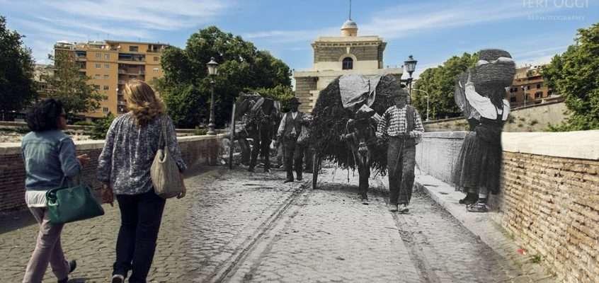 Carretto a Ponte Milvio