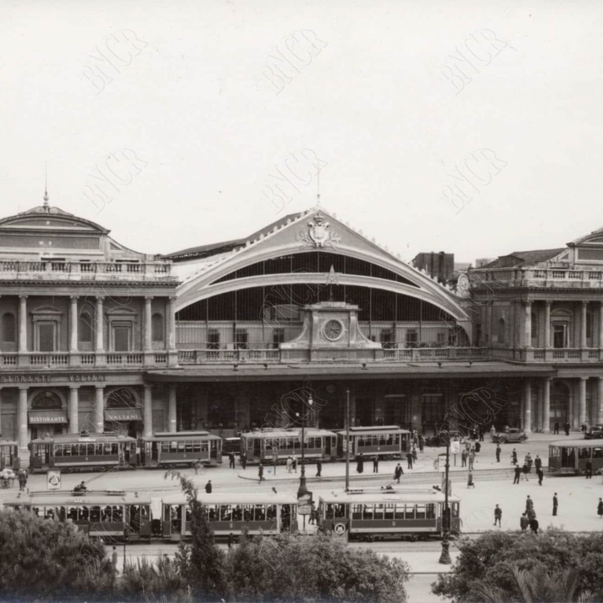 Facciata Antica Stazione Termini anni '30