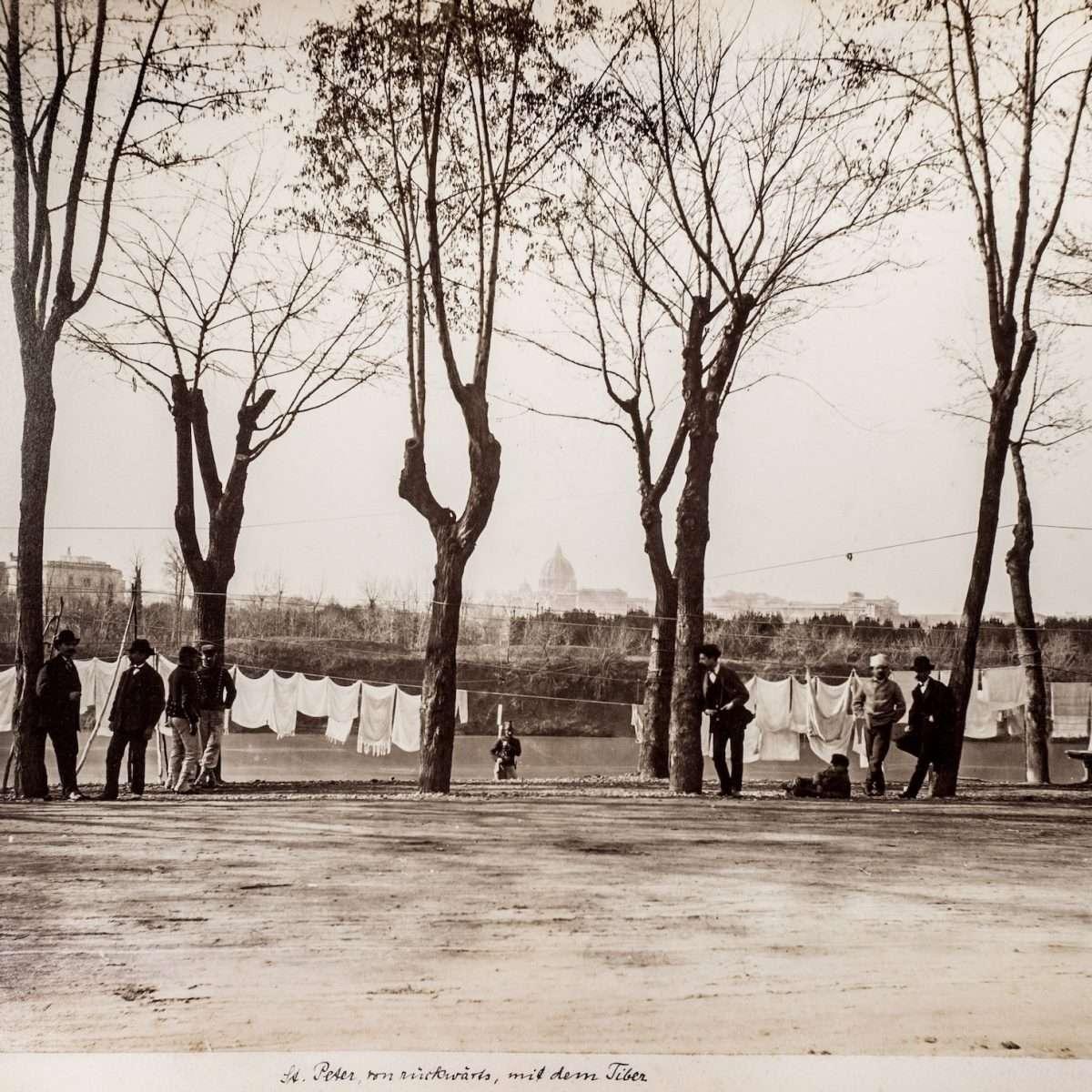 L-1090131 - Passeggiata di Ripetta - 1865