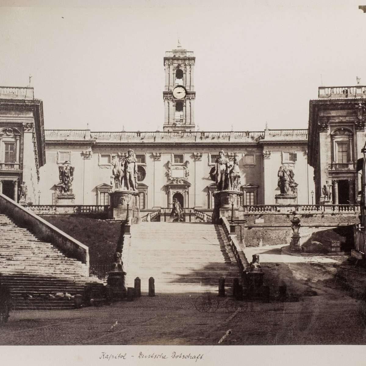 L-1090133 - Campidoglio - Tommaso Cuccioni - 1860