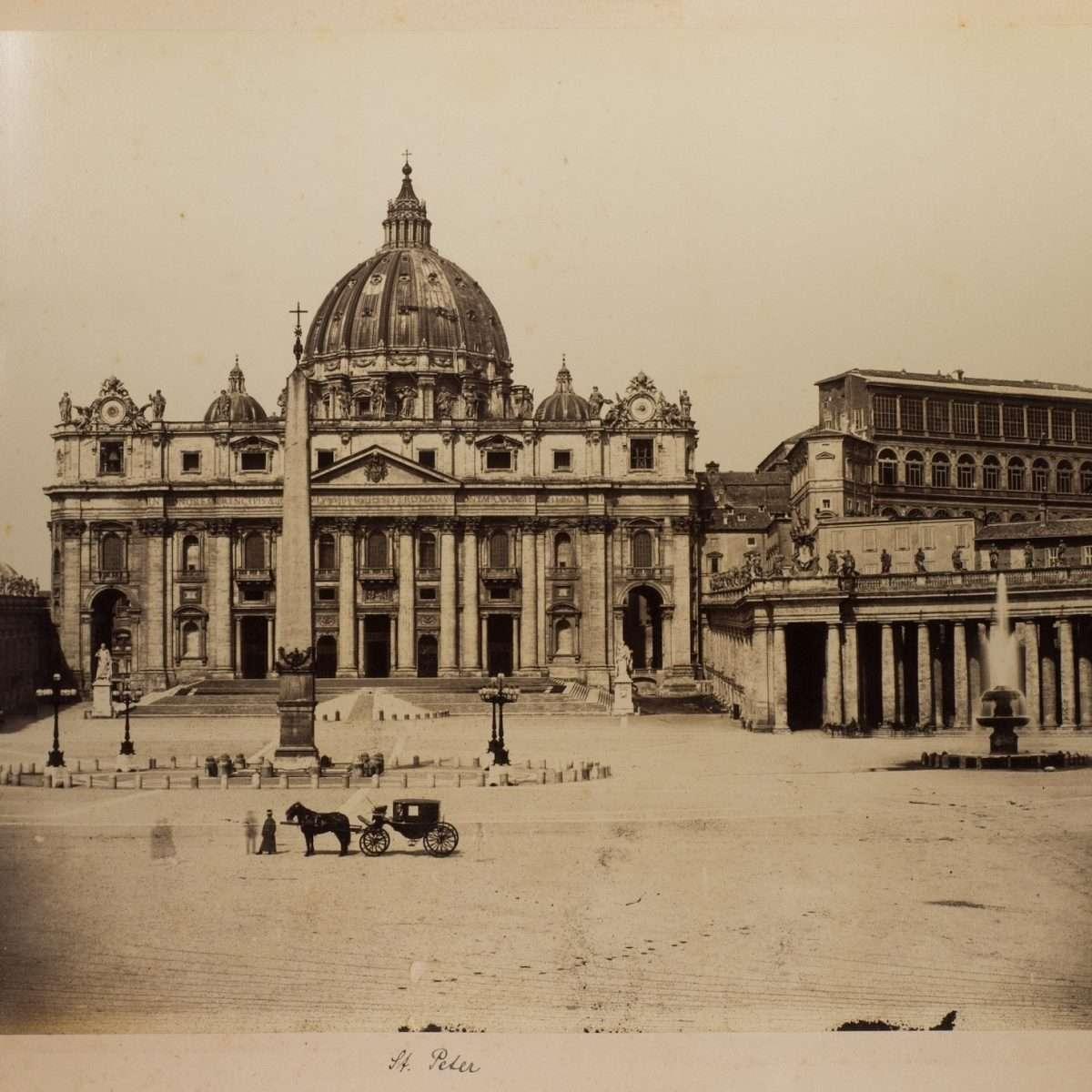 L-1090139 - San Pietro - Tommaso Cuccioni - 1860