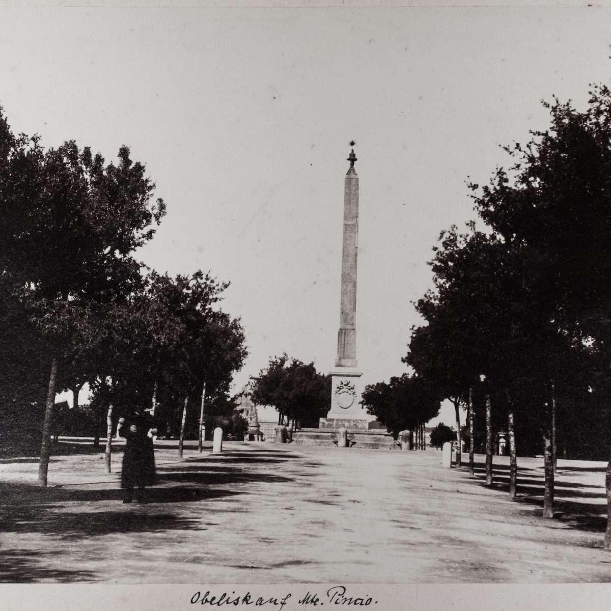 L-1090148 - Obelisco di Antinoo al Pincio