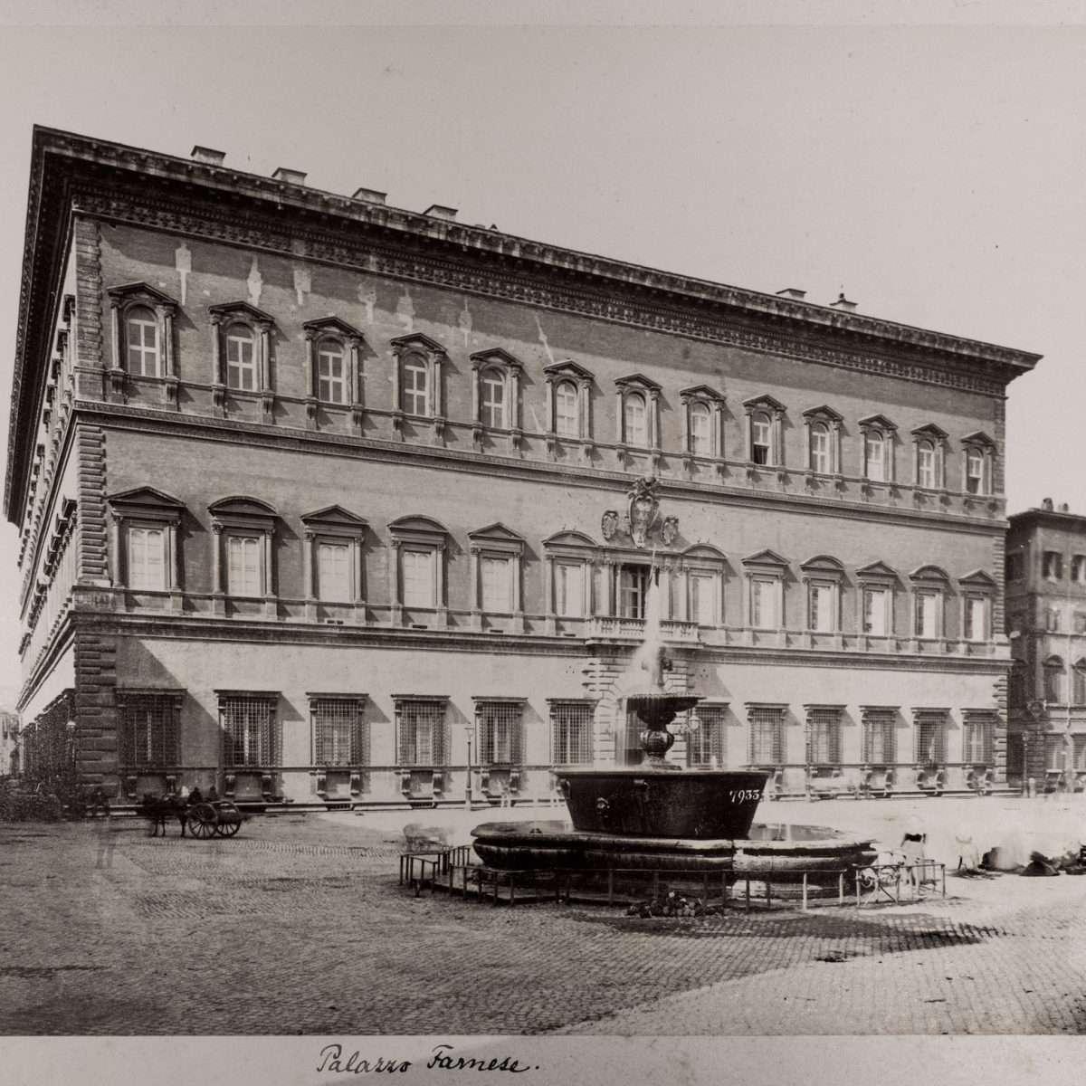 L-1090164 - Piazza Farnese - 1870