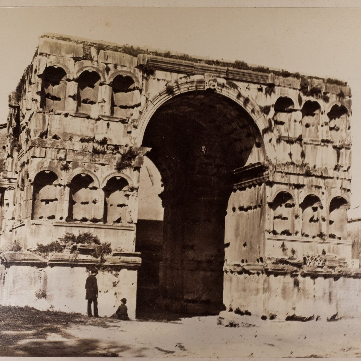 L-1090168 - Arco di Giano - 1860 ca