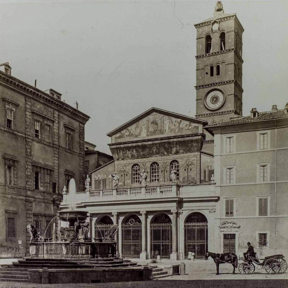 L-1090214 - Piazza di Santa Maria in Trastevere
