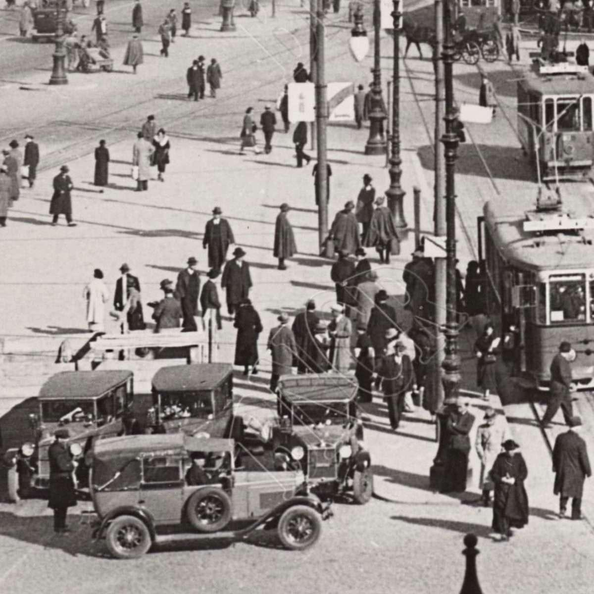 Particolare (persone) anni '30
