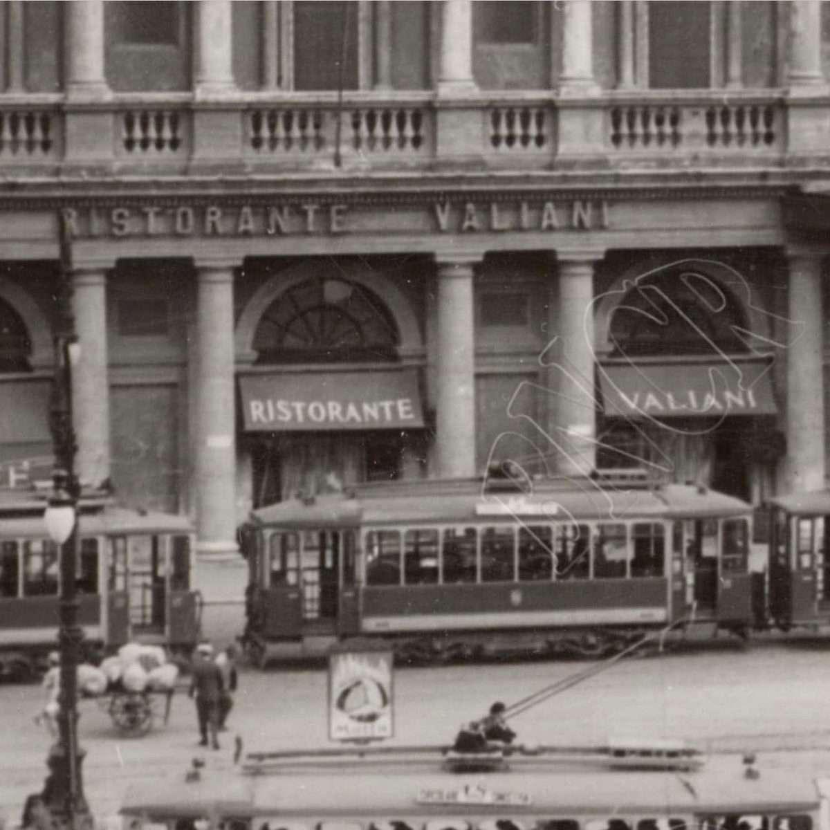 Particolare (tram) anni '30