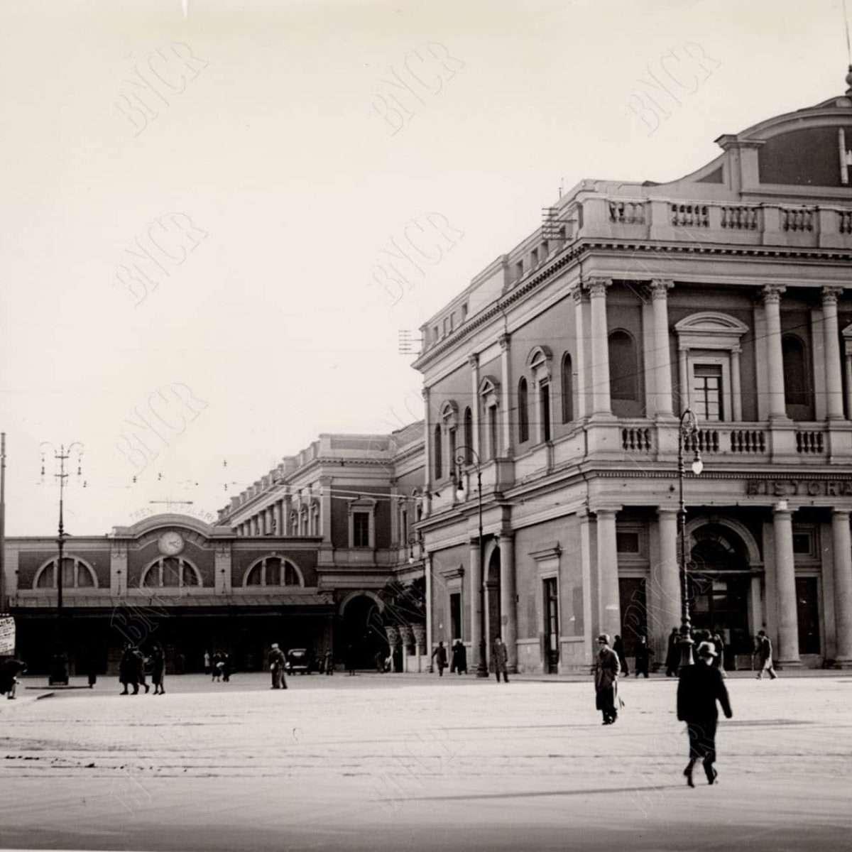 Stazione Termini (1930) Fronte Antica stazione, lato sinistro