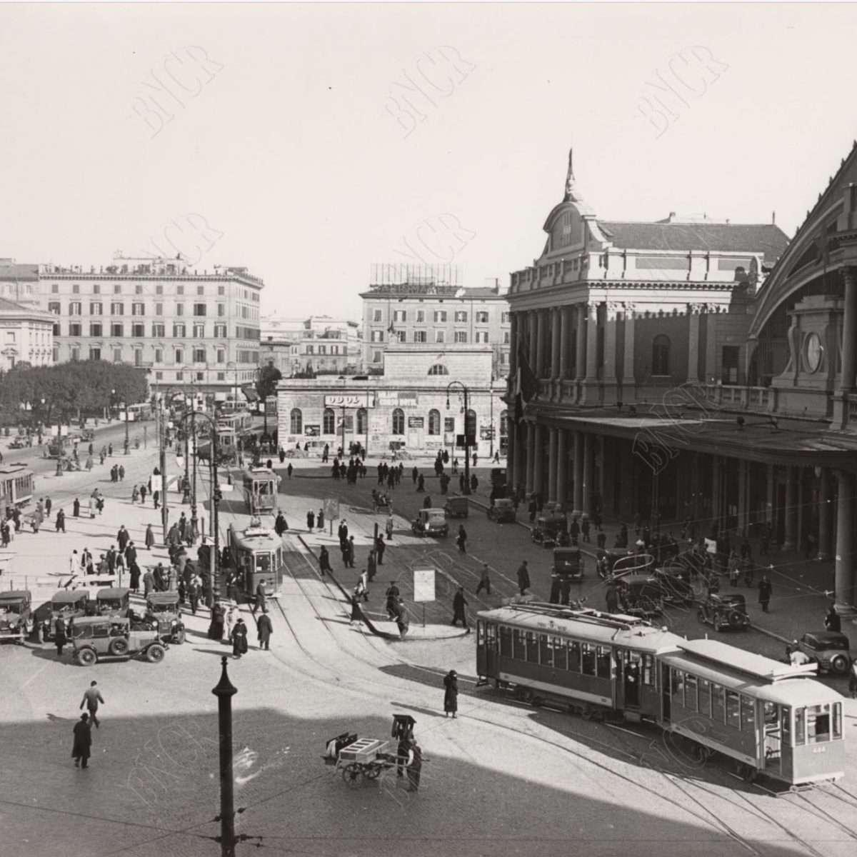 Antica Stazione Termini (Anni '30)