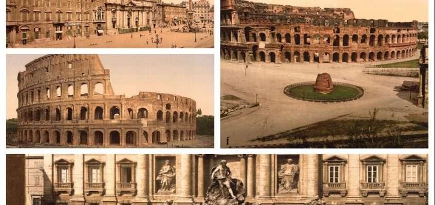 Roma in Fotocromia 1890 (38 foto)