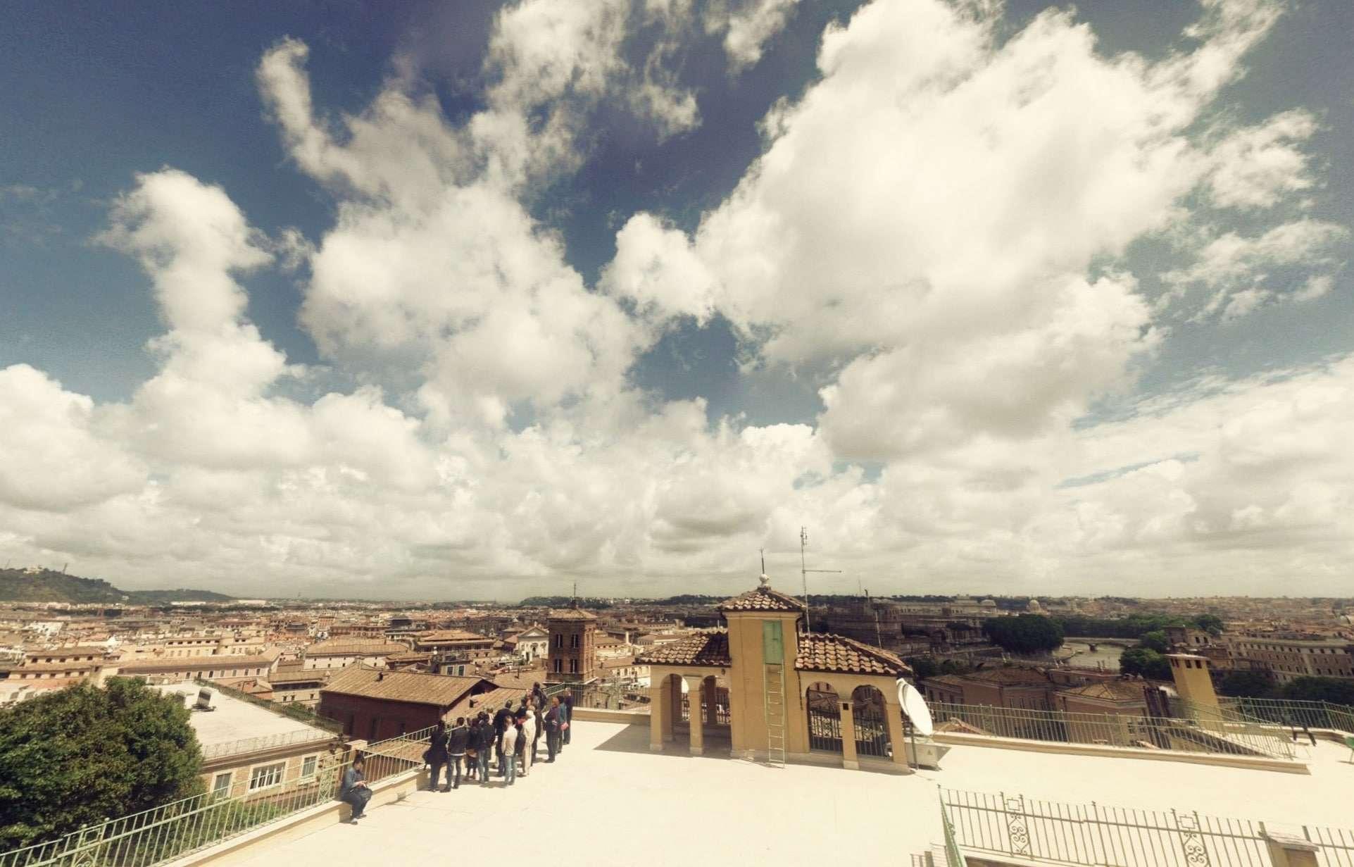 Terrazza di Villa Barberini al Gianicolo a 360° | Roma Ieri Oggi
