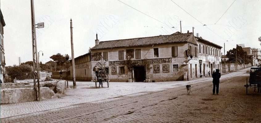 Via Appia Nuova – Bivio Baldinotti (1915)