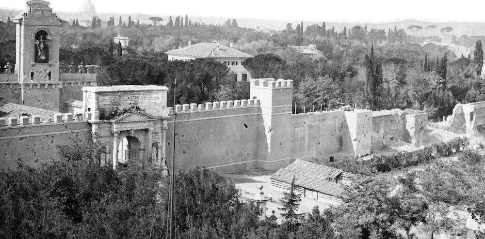 La breccia 20 settembre 1870 roma ieri oggi - Replica porta a porta di ieri ...