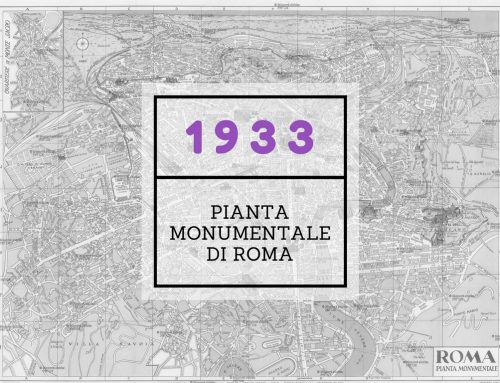 Pianta Monumentale di Roma 1933
