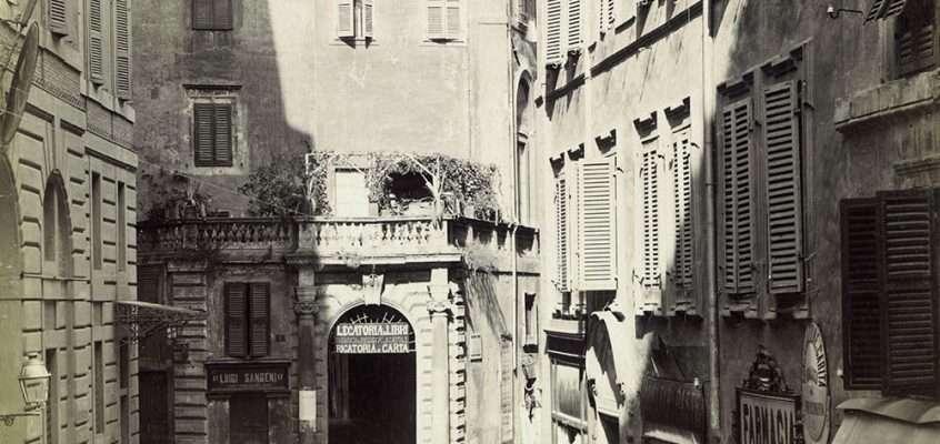 Via dei Portoghesi (1910 ca)