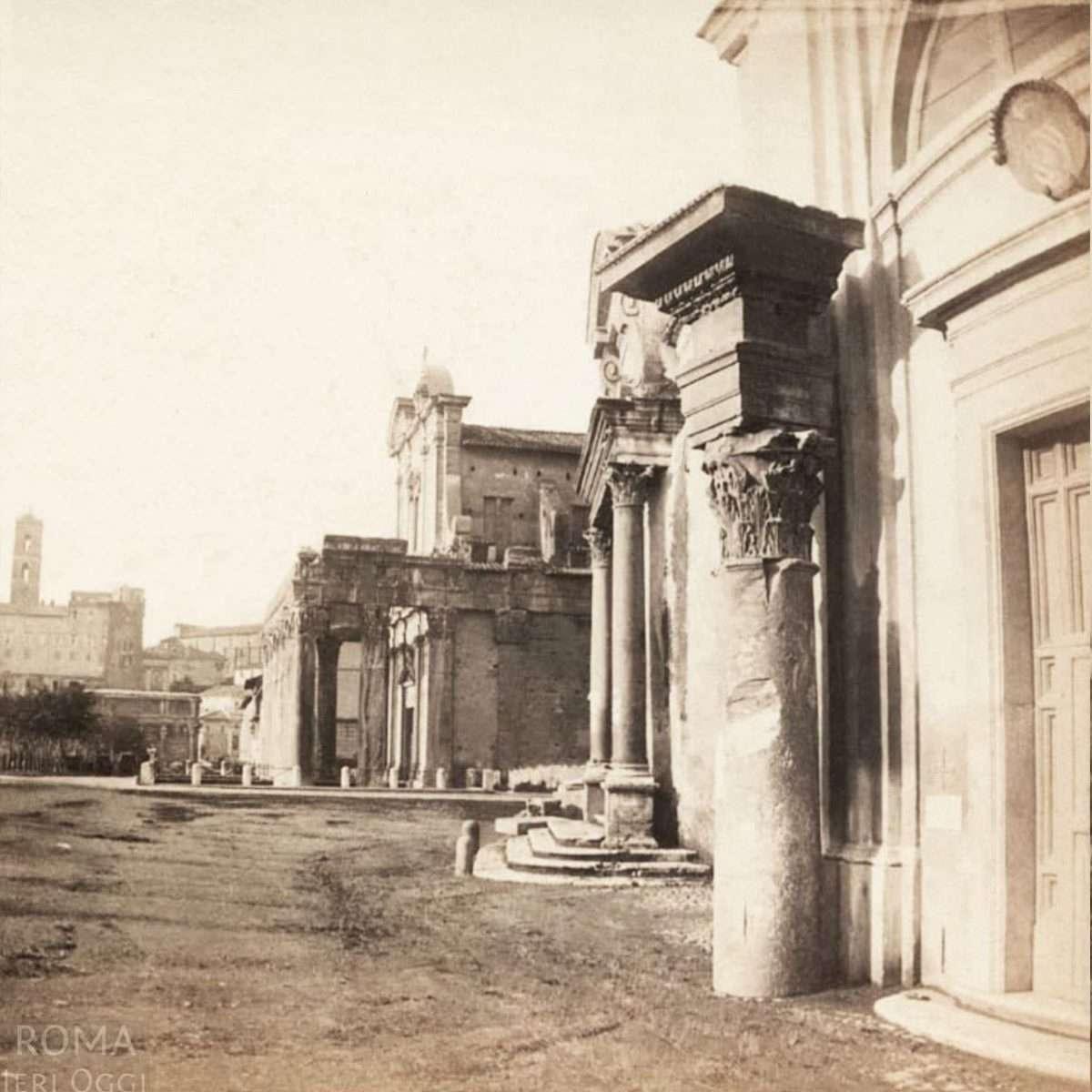 Foro Romano - Tempio di Antonio e Faustina