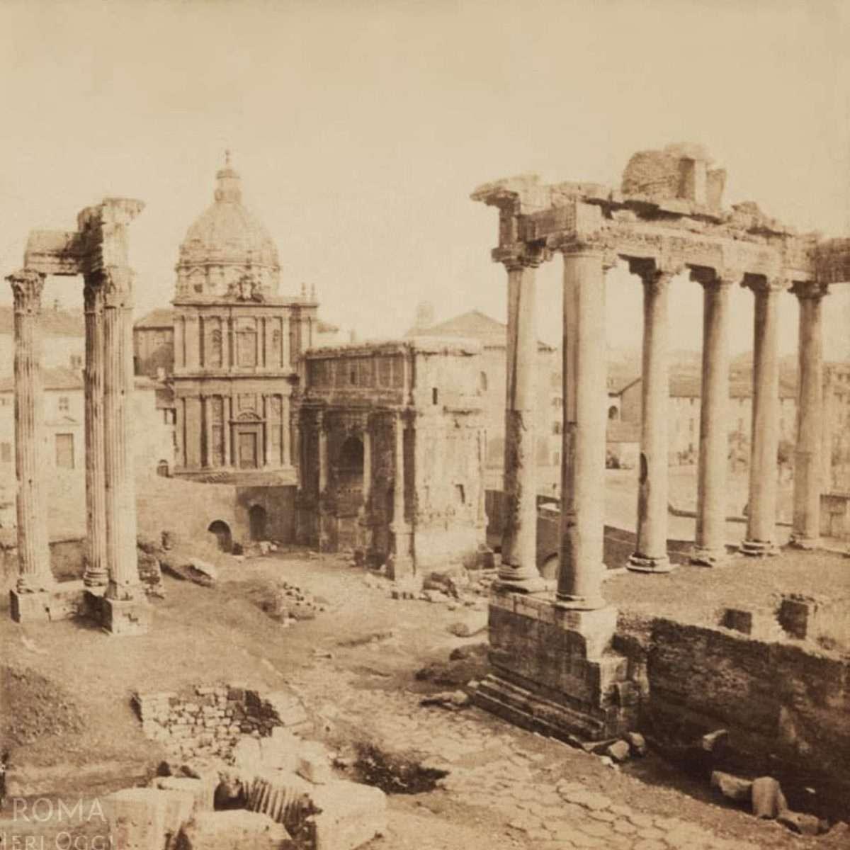 Foro Romano - Arco di Settimio Severo