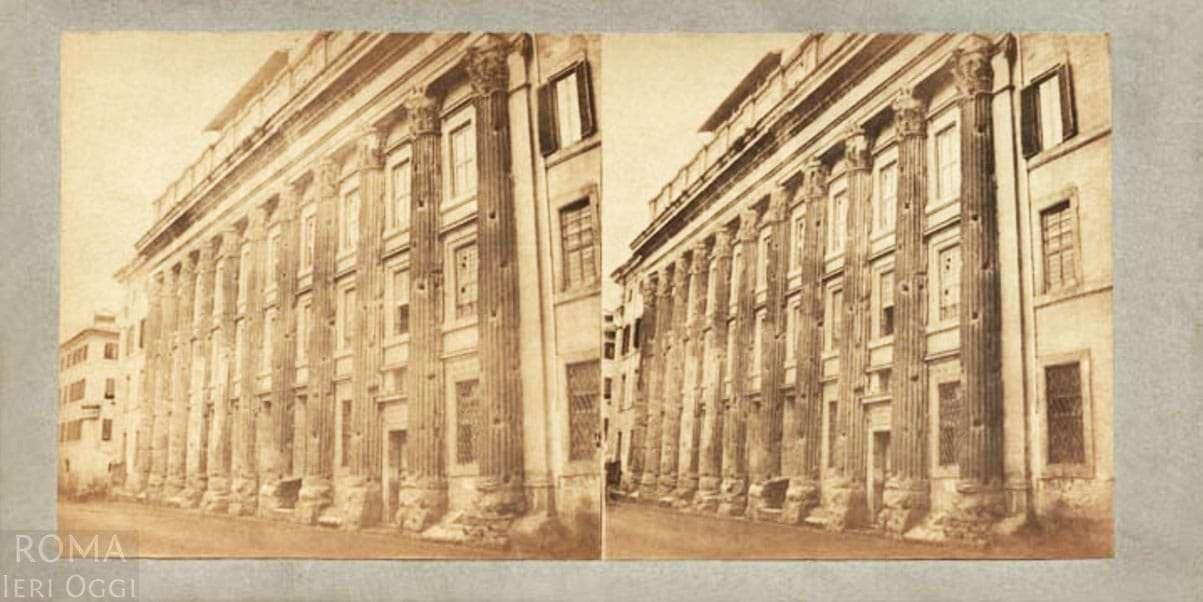 Piazza di Pietra - Tempio di Adriano