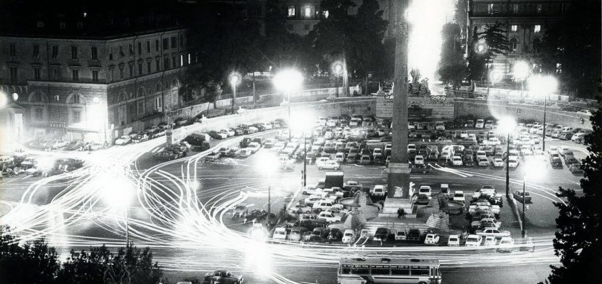 Piazza del Popolo (anni '70)