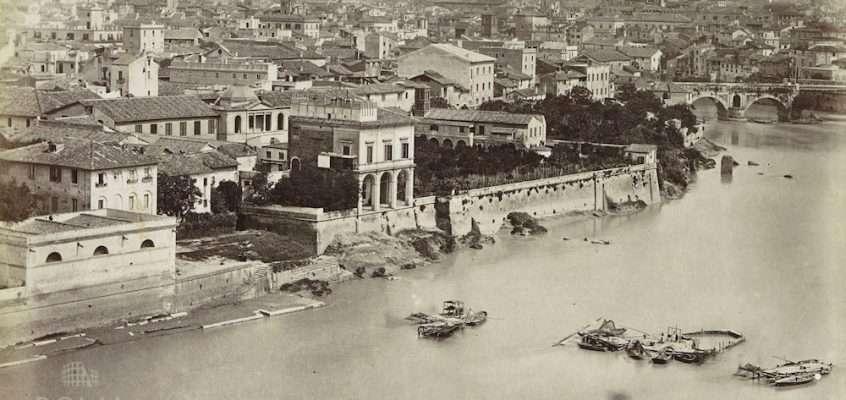 Panorama dall'Aventino (1870 ca)