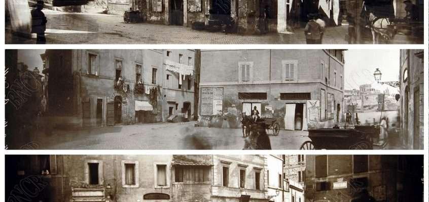 Piazza di Ponte Sisto (1884) (1887)