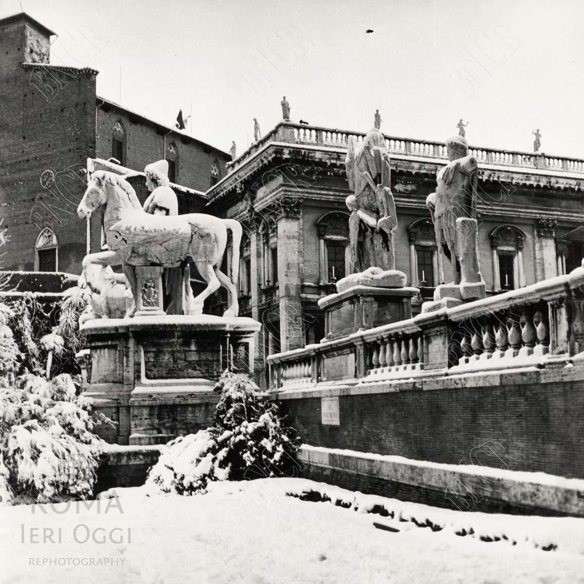 Sotto La neve 1965 Campidoglio