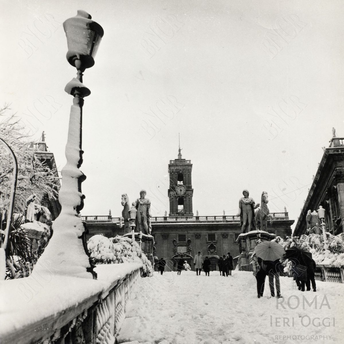Sotto La neve 1965 Campidoglio 2