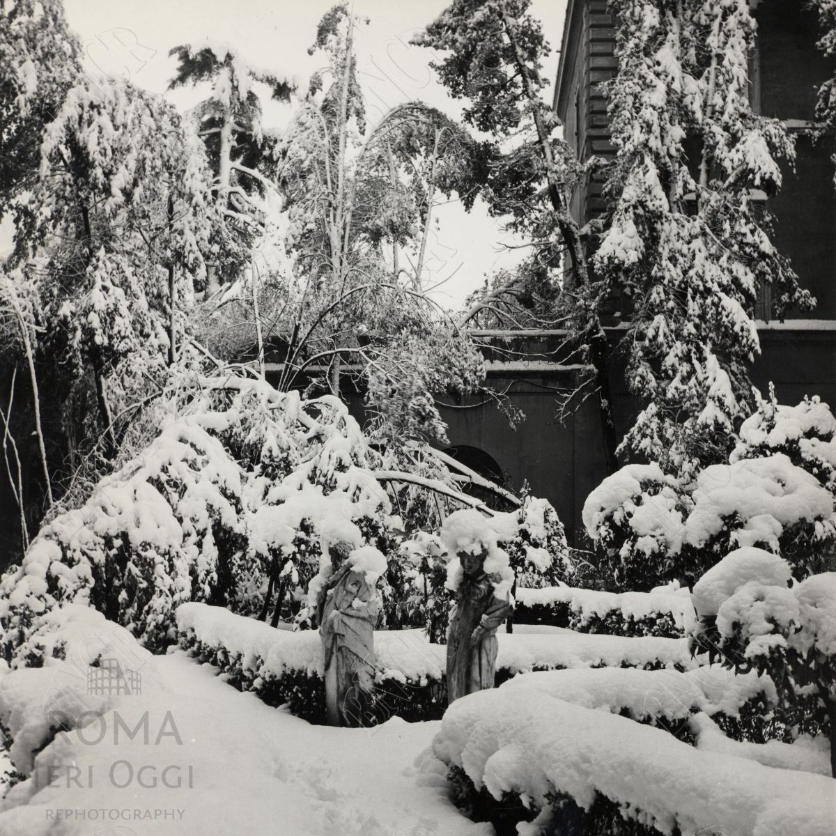 Sotto La neve 1965 Campidoglio 3
