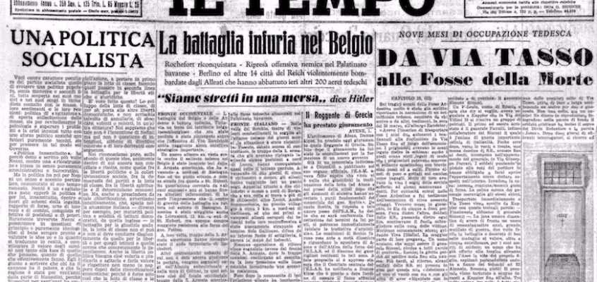 Il Tempo – 2 gennaio 1945
