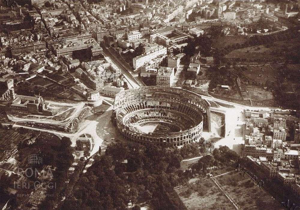 Roma dall'alto 1918 (14 foto)
