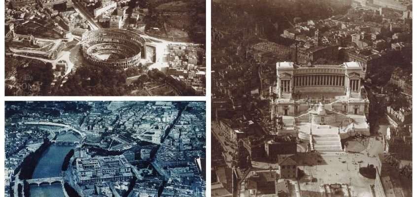 Roma dall'alto (1918) 13 foto
