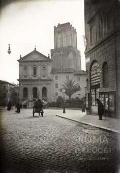 Via XXIV Maggio già Via del Quirinale (1890 ca)