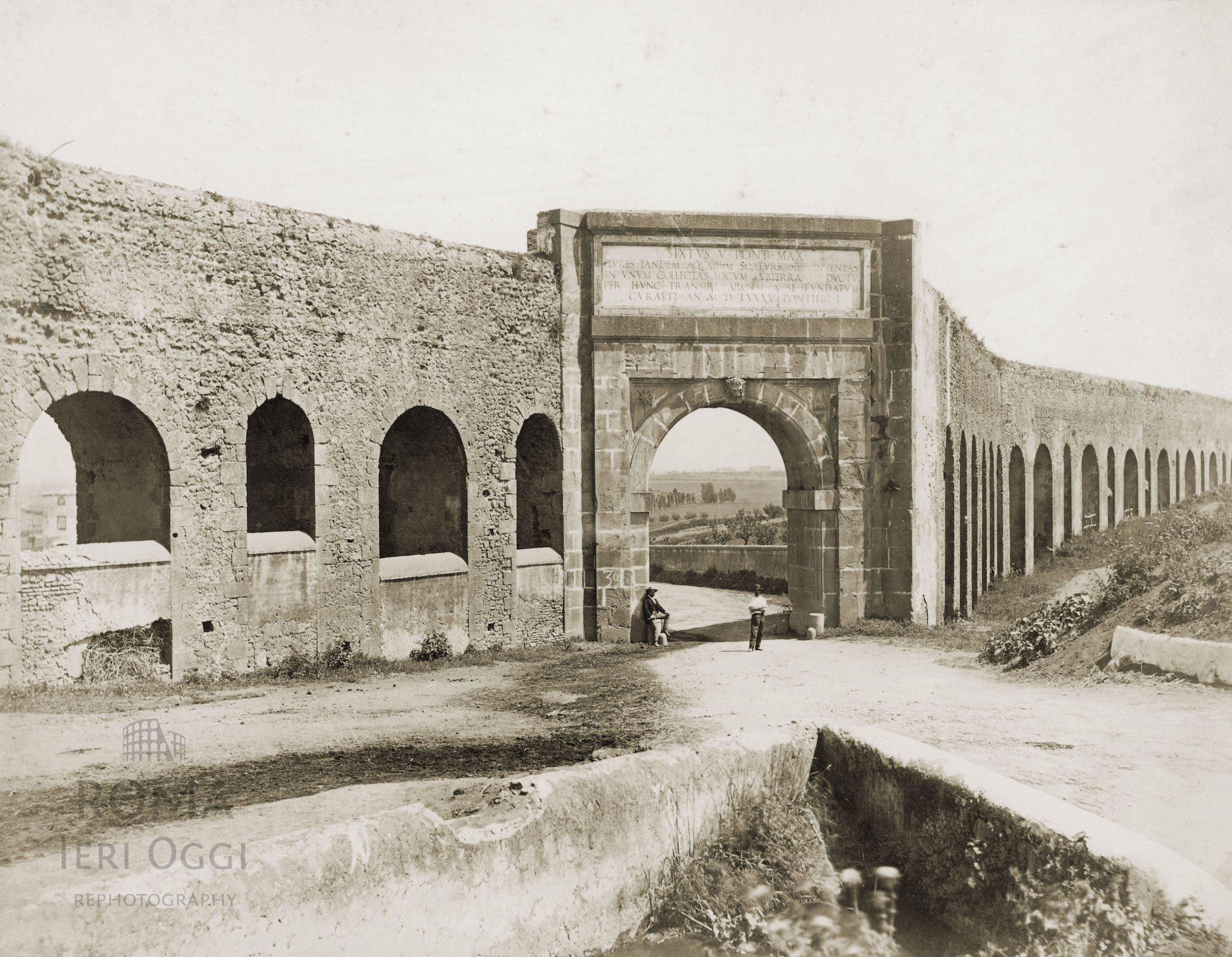 Via tuscolana 1868 roma ieri oggi - Palestra porta furba ...