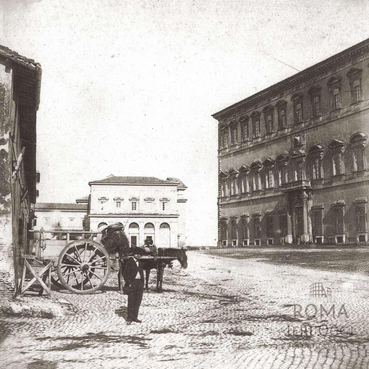 Piazza di San Giovanni in Laterano (1868)