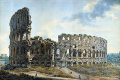 The Colosseum ( Louis Ducros)