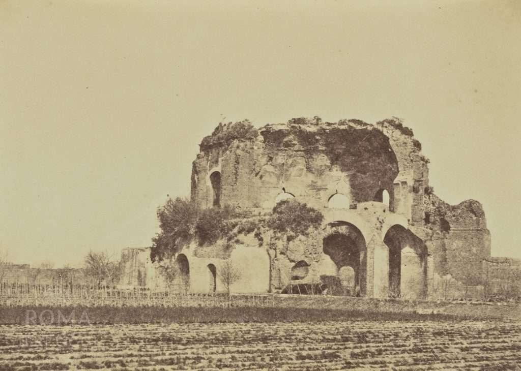 Edificio Horti Liciniani (all'epoca Tempio Minerva Medica)