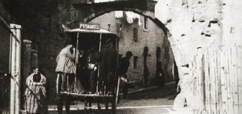 Via Bonella (Primoli, 1900 ca)