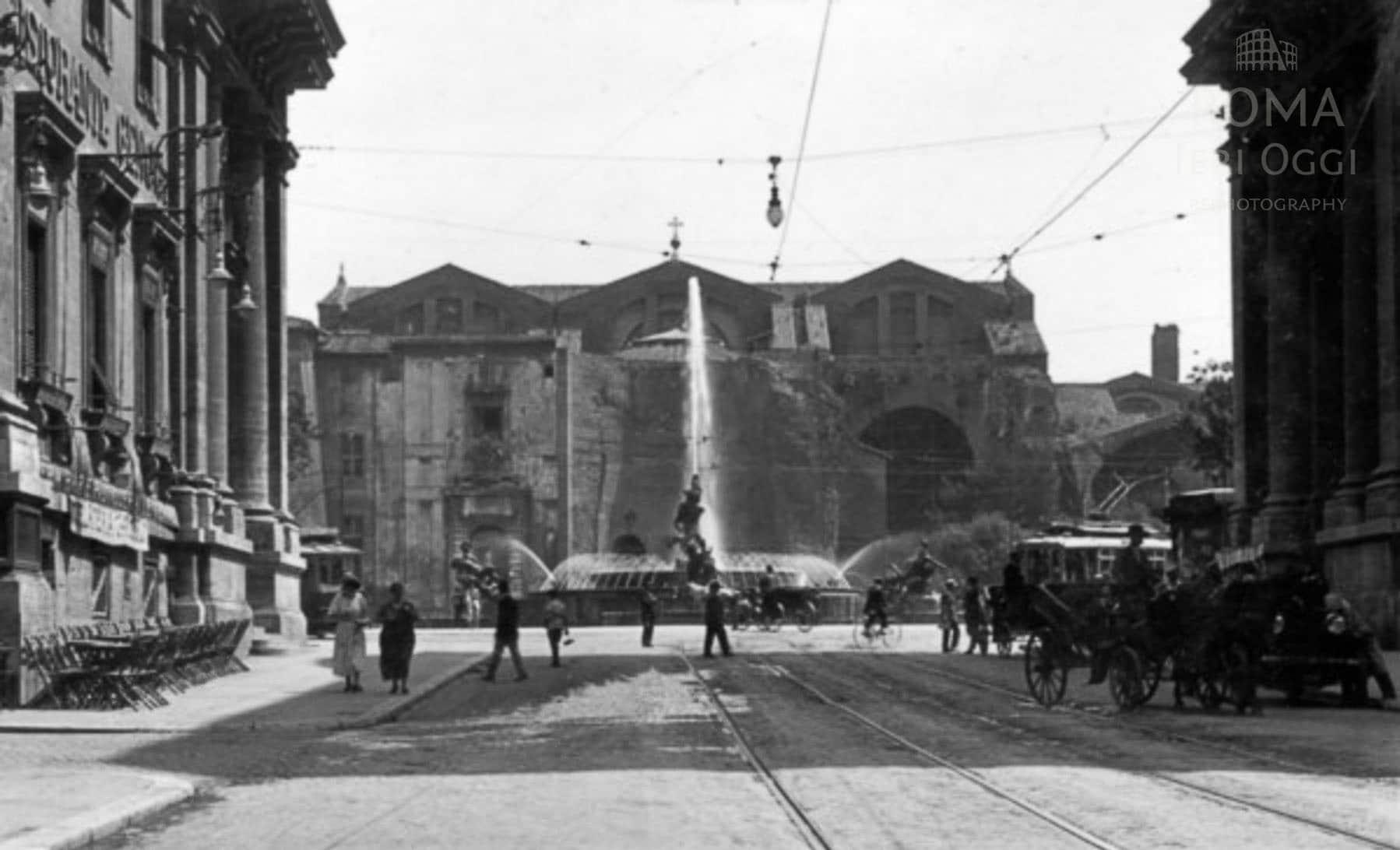 Via Nazionale - Piazza della Repubblica