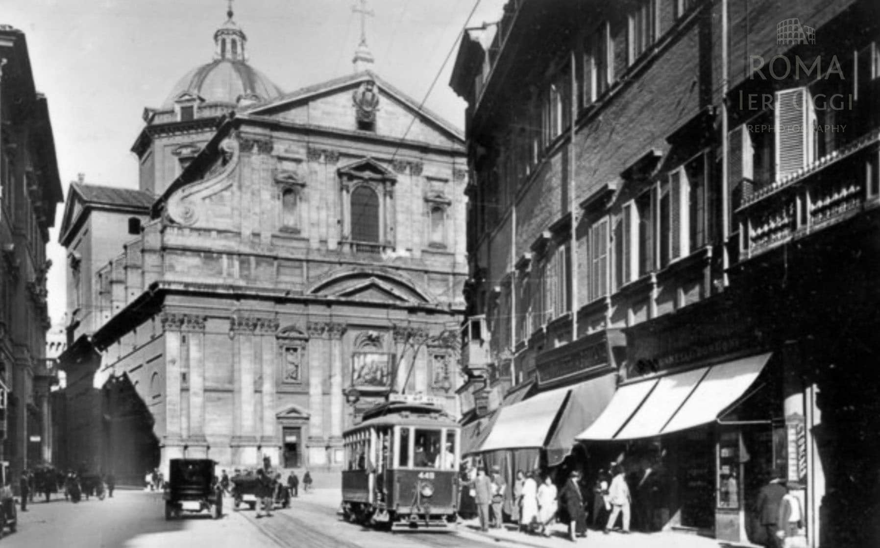 Corso Vittorio Emanuele II - Chiesa del gesù