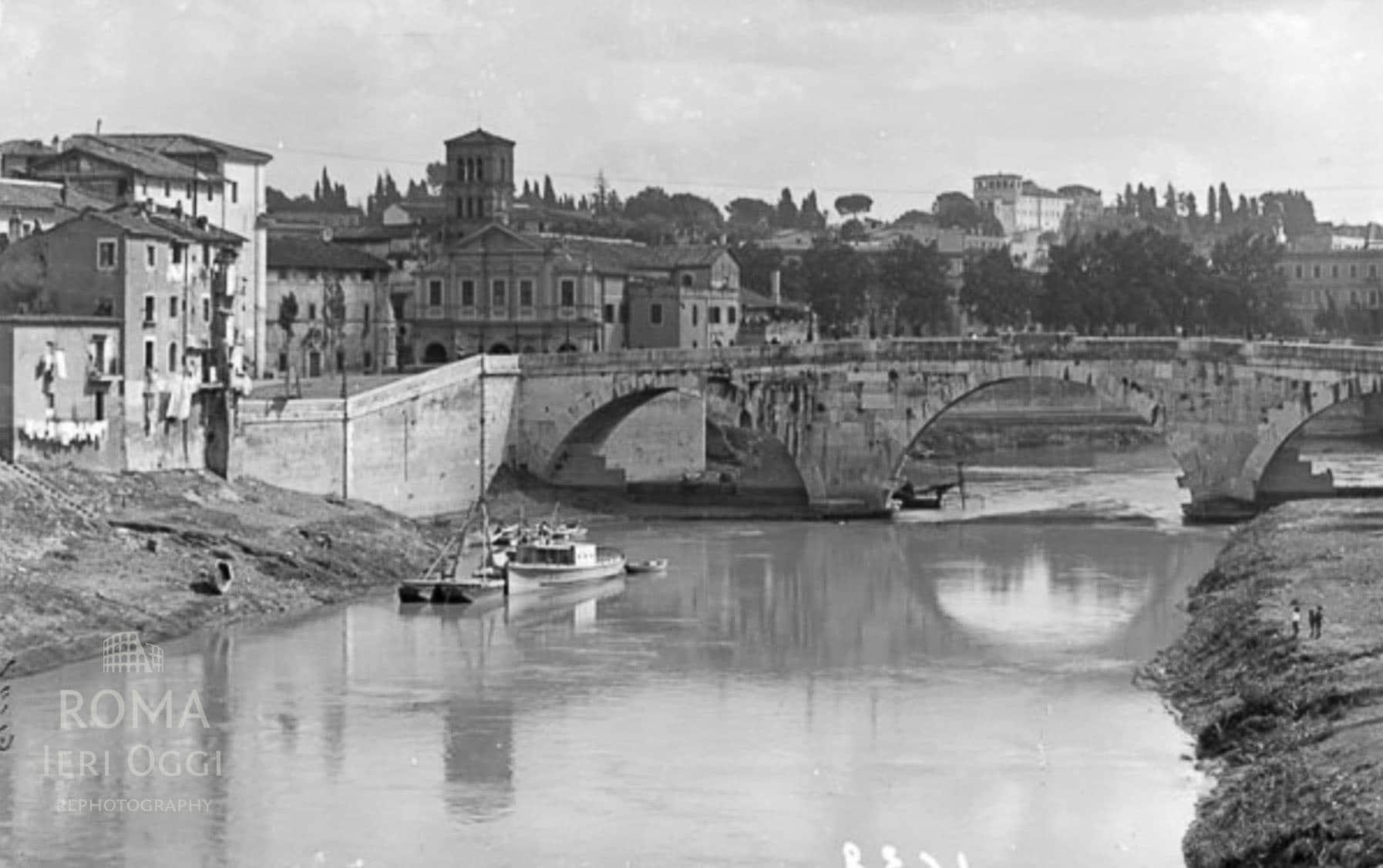Ponte Cestio - Isola Tiberina