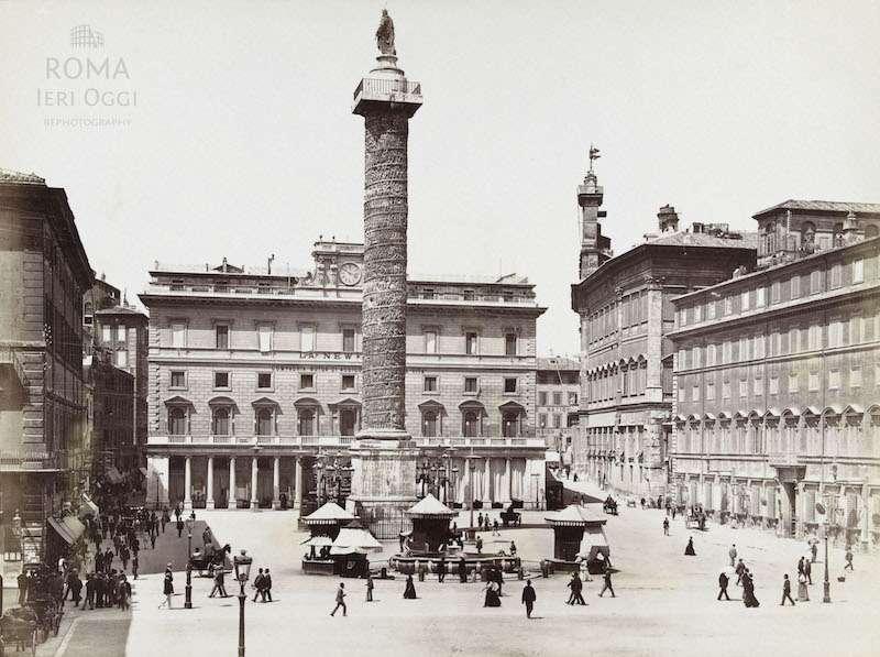 Piazza Colonna (1890)