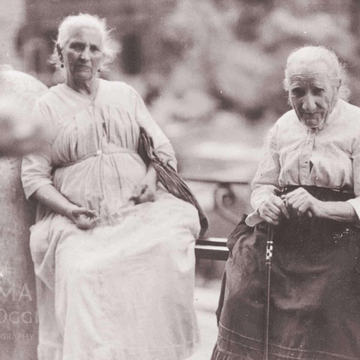Nonnine alla Fontana di Trevi