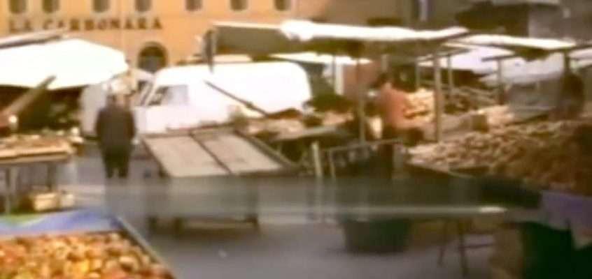 Mercato di Campo de' Fiori (anni '70)