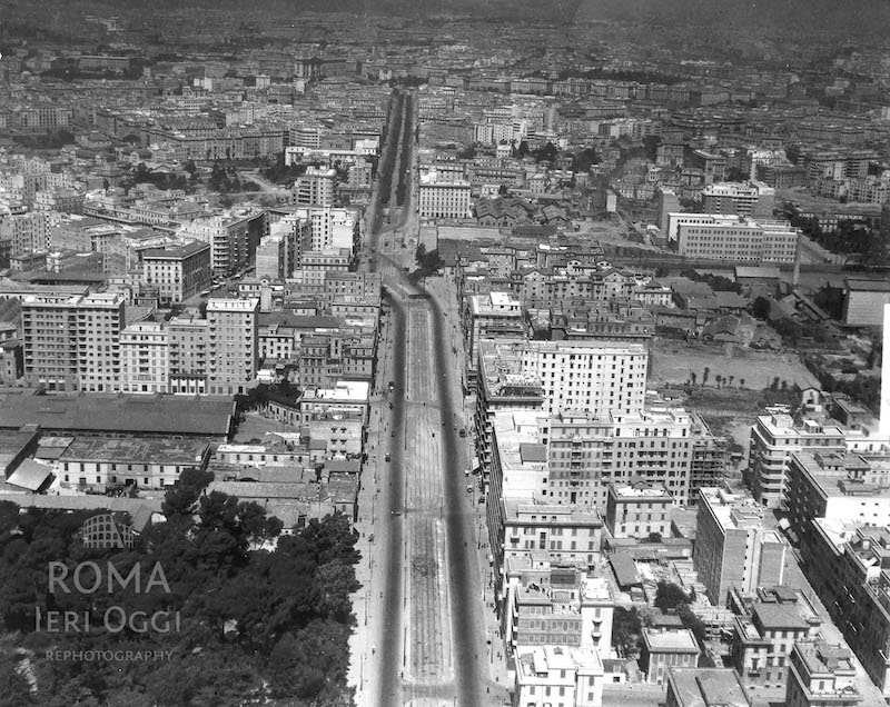 Via Appia Nuova (1940 ca)