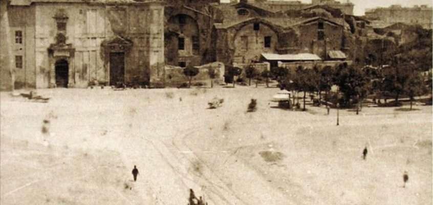 Piazza della Repubblica (1885 ca)